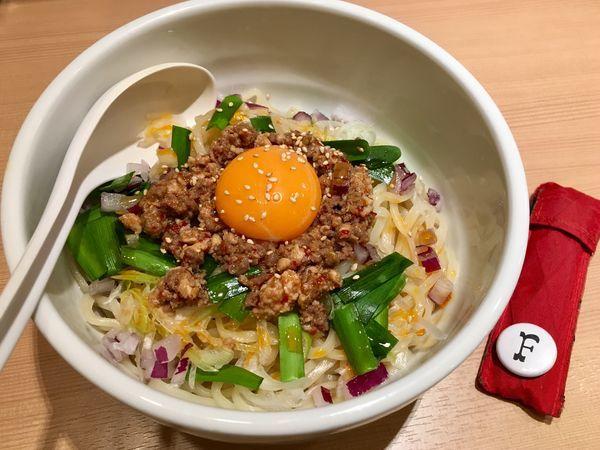 「汁なし担々麺」@中華そば ます田の写真