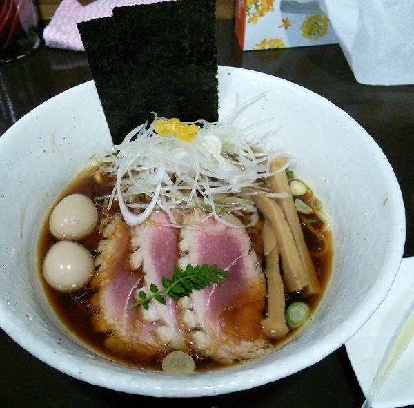 「【限定】上鴨そば 1050円」@麺や 魁星の写真