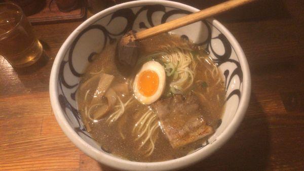 「周平らーめん:720円」@麺鮮醤油房 周平の写真