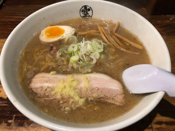 「味噌らーめん  780円」@らーめん 空 本店の写真