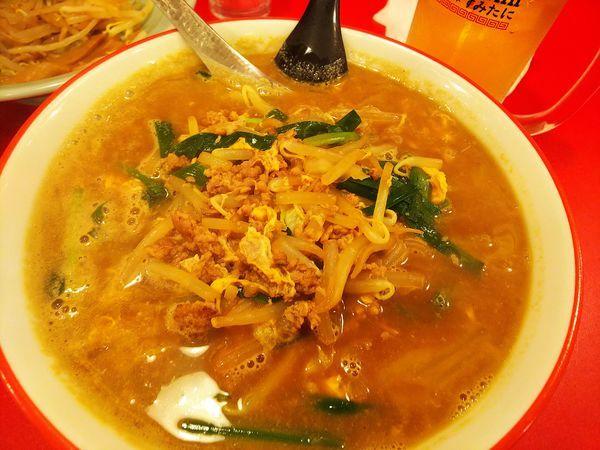 「から麺(辛味0)」@駅前中華そば すみたに 仙台分店の写真