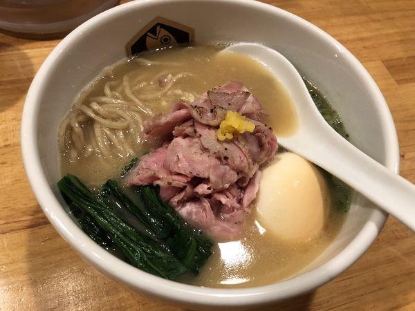 「濃厚真鯛らーめん」@真鯛らーめん 麺魚の写真