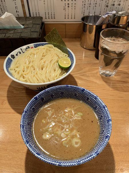 「つけ麺(大盛):1000円」@つじ田 日本橋八重洲店の写真