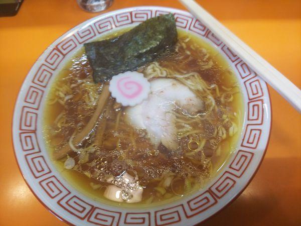 「中華そば (並) 500円」@太陽食堂の写真