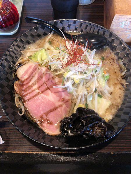 「前橋醤油タンメン」@麺屋 燦鶴の写真