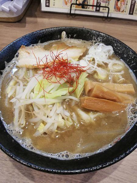 「煮干DE味噌」@煮干乃宴の写真