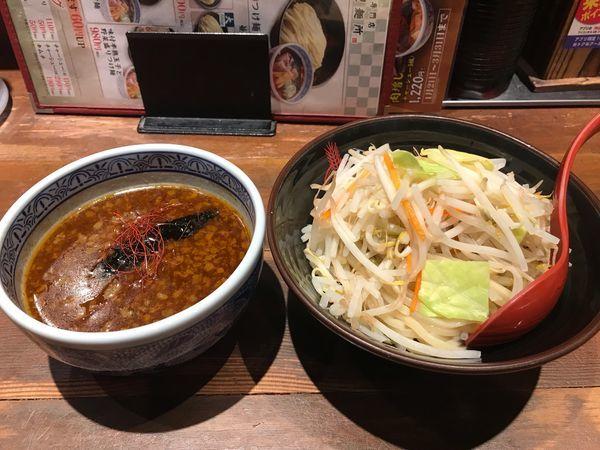 「味噌つけ麺」@つけ麺専門店 三田製麺所 神田店の写真