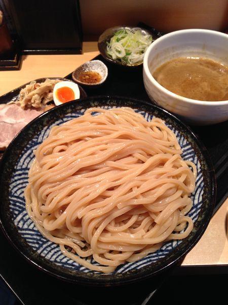「つけ麺 中盛り(300g) 1050円」@つけ麺 道の写真