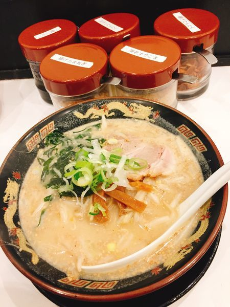 「北海道味噌ラーメン680円」@北海道らーめん みそ熊 新橋店の写真