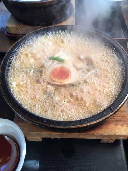 「石焼らーめん 醤油」@石焼らーめん 火山 インターパーク店の写真