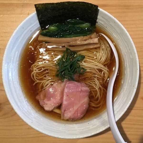 「クラフトビール→らぁ麺(醤油)」@麺屋 さくら井の写真