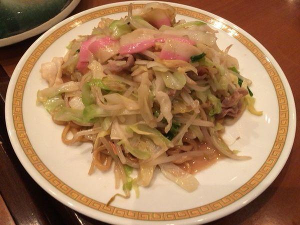 「皿うどん 太麺」@四海楼の写真