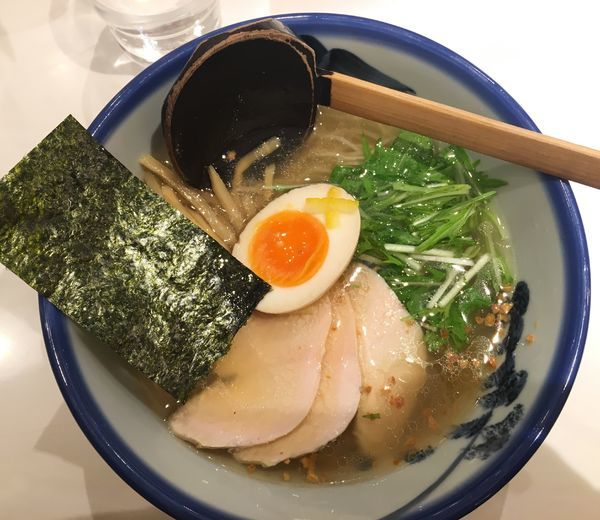 「塩ラーメン」@AFURI 新宿店の写真