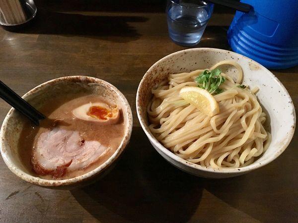 「濃厚 鶏×魚 つけ麺」@大杉製麺の写真