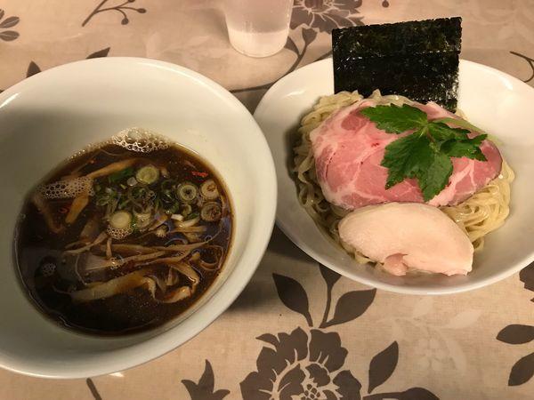 「2/16 煮干つけ麺」@小烏丸 ramen-laboの写真