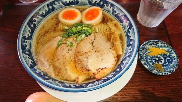 「味玉チャーシュー麺醤油(980円)」@麺処 山一の写真