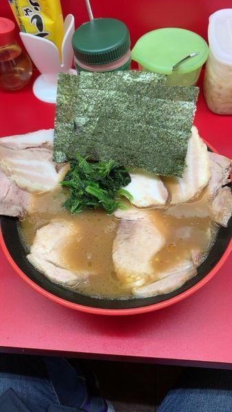 「チャーシュー麺並」@横濱家系ラーメン 勝鬨家の写真