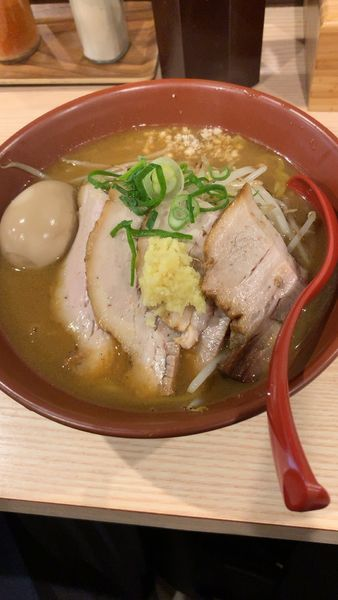 「焼き味噌+チャーシュー」@拉麺 大公の写真
