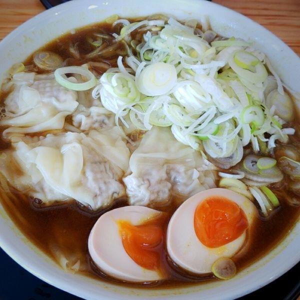 「【期間限定】カレーワンタンメン 800円」@麺屋 とん嬉の写真
