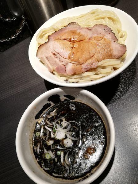 「黒つけ麺」@麺屋武蔵 武骨相傳の写真