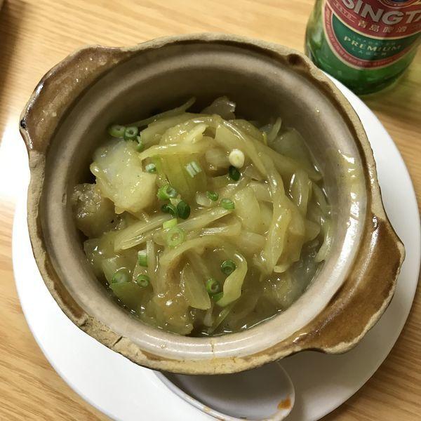 「加厘牛鞭子【牛のペニスカレー煮込み】」@上海小吃の写真