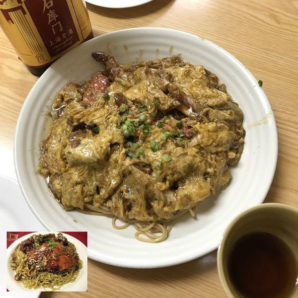 「盖帽【蟹冷ラーメン】」@上海小吃の写真