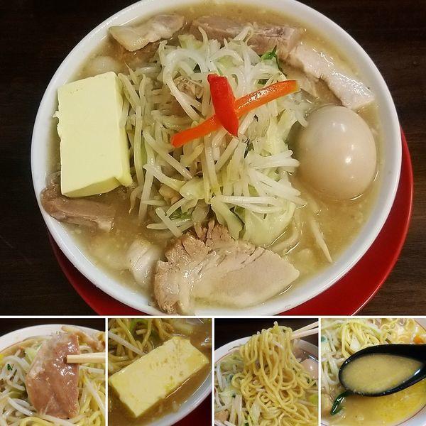 「特製竹ちゃんタンメン+バター=1060円」@竹ちゃんタンメンの写真
