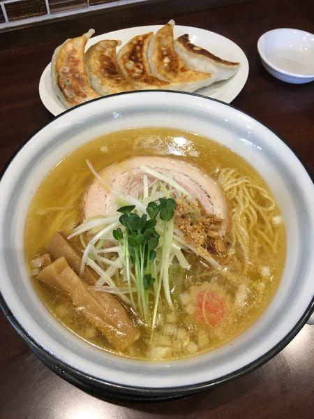 「芳醇鶏塩らーめん」@らーめんつけ麺 吉田商店 本店の写真