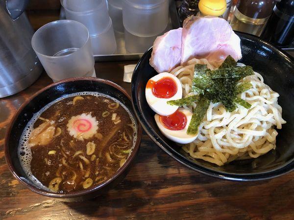 「特製つけ麺」@麺屋いちびりの写真