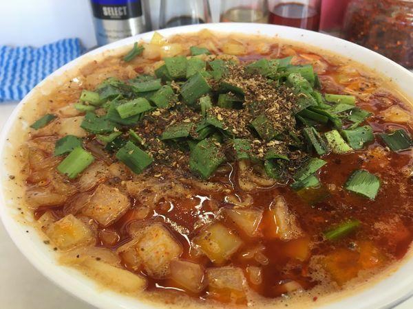 「勝浦タンタン麺/ご飯」@ビンギリの写真
