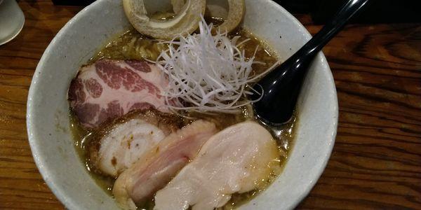 「【限定】煮干し醤油ラーメン」@らーめん専門 和海の写真