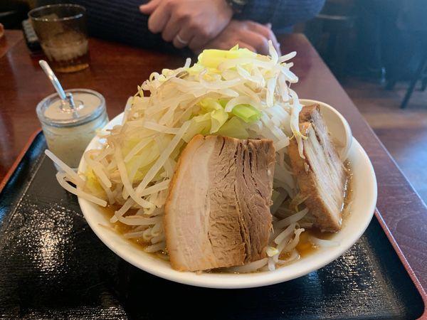 「てっぺんラーメン」@麺屋 甍の写真