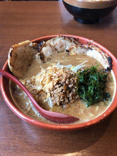 「味噌炙りチャーシュー」@麺場 田所商店 足立江北店の写真