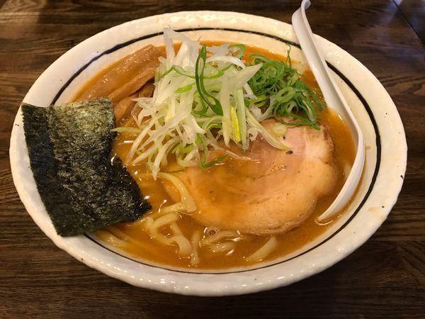 「味噌ラーメン(900円)」@中華そば しんの助の写真
