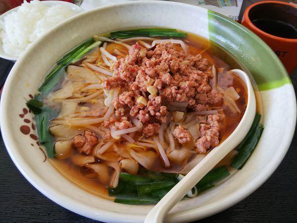 「台湾刀削麺 ※ライスサービス ※クーポンで500円」@台湾料理 鑫茂の写真