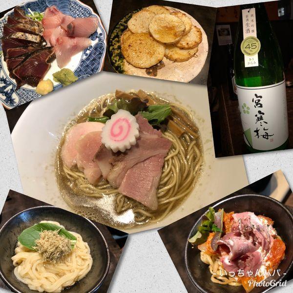 「宴会シメ)中濃 淡麗煮干しそば 780円 etc…😋」@鶏そば なんきち 東京店の写真