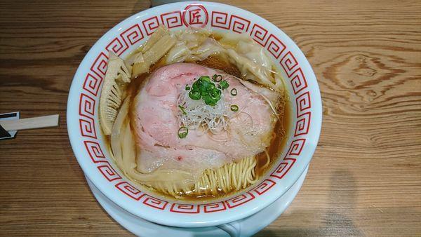 「醤油ワンタン麺」@soba.shoの写真