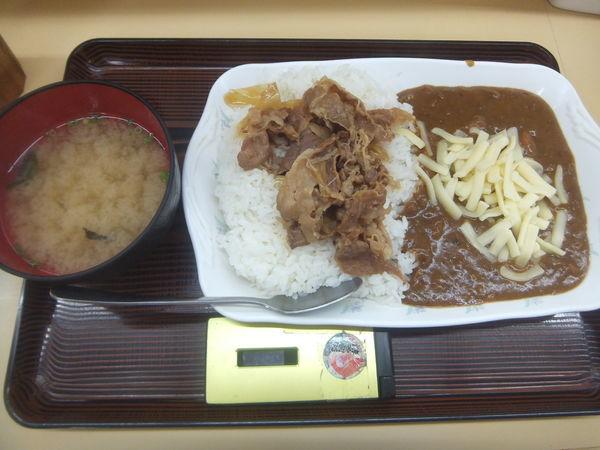 「チーズ牛カレー490円」@どん亭 安里店の写真