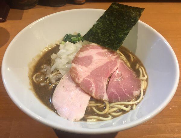 「濃厚蕎麦800円」@亀戸煮干中華蕎麦 つきひの写真