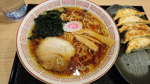 「夜鳴きそば580円」@餃子楼 おとど餃子食堂 本八幡駅前店の写真