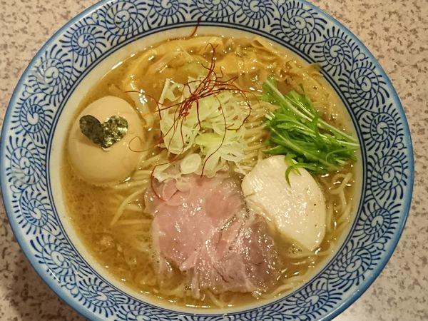 「【限定】サバ白湯そば ¥820」@麺処 かつ善の写真