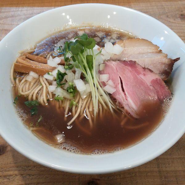 「らぁ麺(醤油)」@The Noodles & Saloon Kiriyaの写真