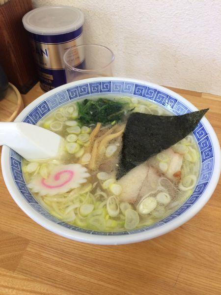「塩ラーメン」@麺屋 左吉の写真