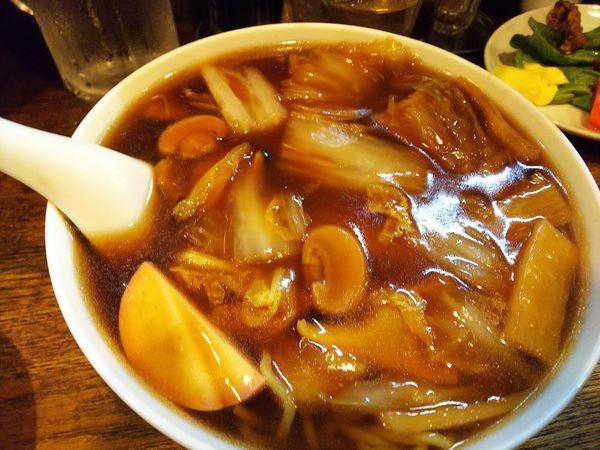 「広東麺」@レバニラ定食 kei楽の写真
