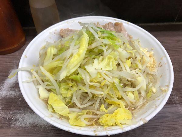「大豚二枚」@ラーメン二郎 横浜関内店の写真