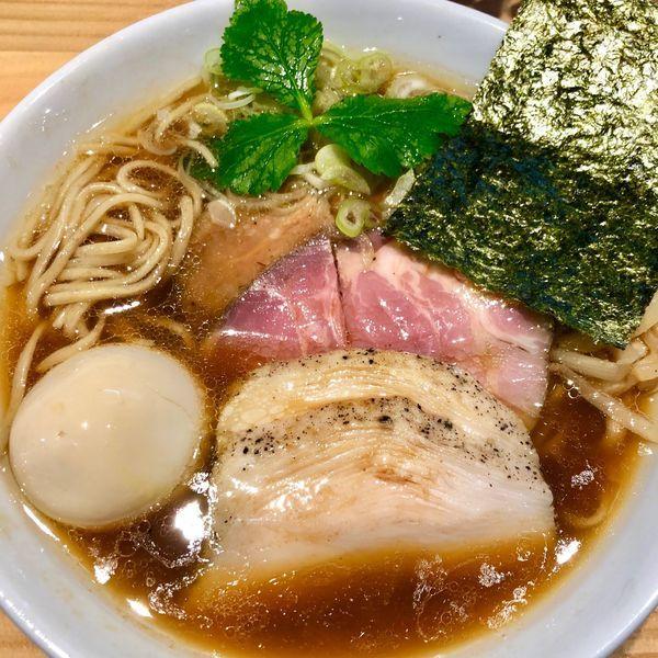 「特製こもんそば950円」@麺ゃこもんの写真