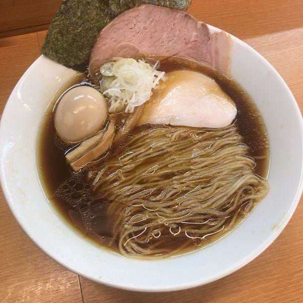 「中華そば 780円+半替玉」@麺処ろくめいの写真