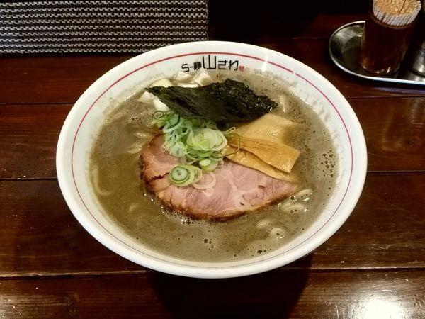「濃厚煮干」@らー麺 山さわの写真