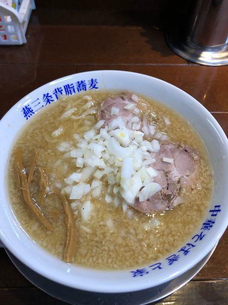 「味噌ラーメン 850円 脂多め、玉ねぎ多め」@中華そば ぎと家の写真