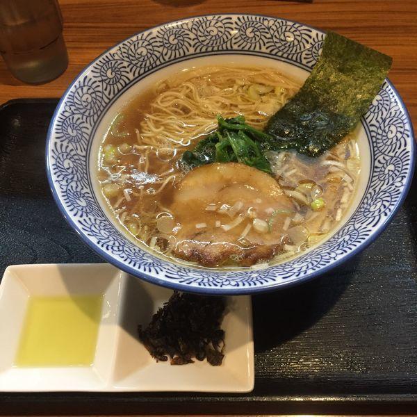 「あっさり 麺少なめ」@らーめん鈴家の写真